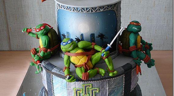 tmnt Cake | Teenage Mutant Ninja Turtles Cake