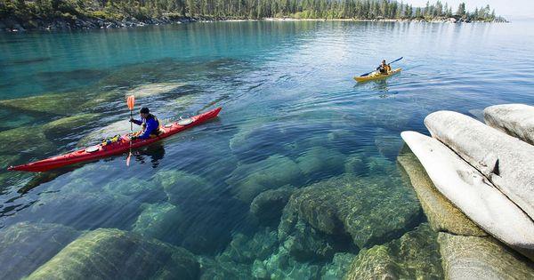 Kayaking Lake Tahoe Sand Harbor Camping Pinterest Lake Tahoe Lakes And Lake Tahoe Nevada