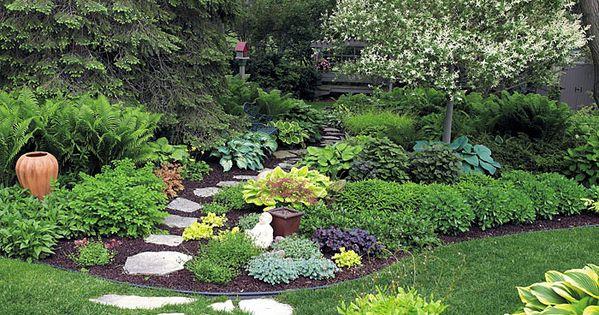 Shade garden | Garden Gate eNotes