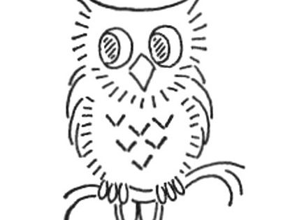 WB 024 f by mmaammbr, via Flickr - Little Owl embroidery pattern.