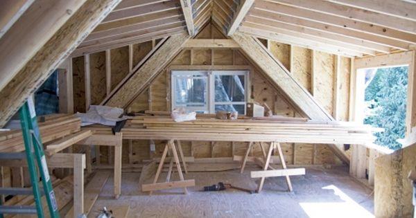 Shed Dormer Framing For Driveway Side Bedroom Attic