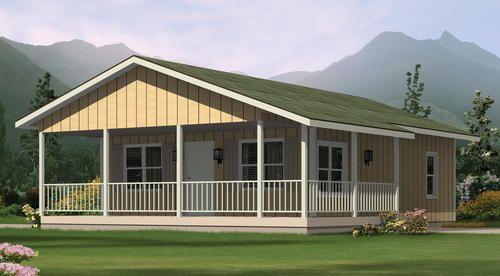H001d 0085 The Highlander At Menards Ranch Style House Plans Cottage House Plans Cottage Plan