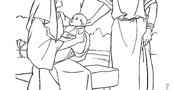 Ruth and Boaz - Bible coloring page to print | Bible ...