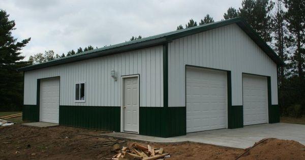 Pole barn style garage plan to building barn pole garage for 30x40 garage apartment plans