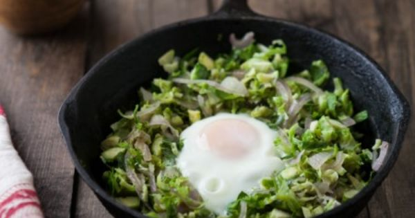 Brussels Sprouts and Egg Skillet | Recipe | Skillets, An ...