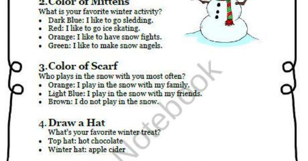 The joys of winter essay