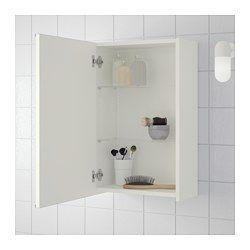 Lillangen Spiegelschrank 1 Tur Weiss Ikea Deutschland Wandschrank Badezimmer Klein Badezimmer Design
