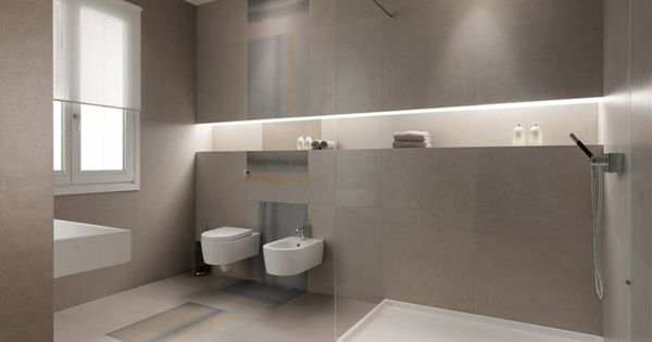 strenges design saubere art matter effekt badezimmer fliesen gro formatig badezimmer. Black Bedroom Furniture Sets. Home Design Ideas