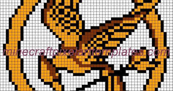 Pixel Art Minecraft Templates Link