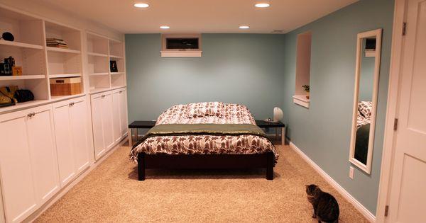 Basement bedroom designed by castle building and for Basement master bedroom