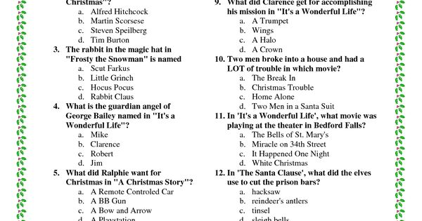 printable christmas movie trivia pdf download legal