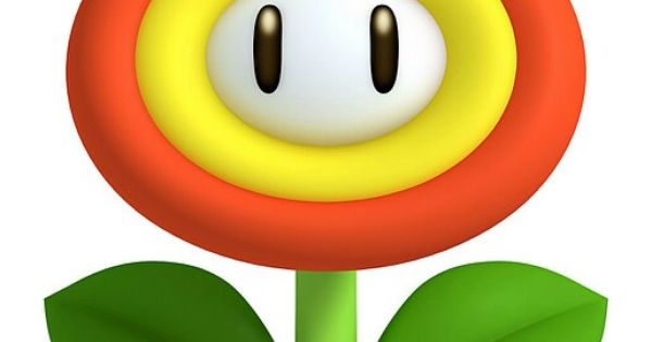 Fire Flower Characters Art New Super Mario Bros 2 Jpg
