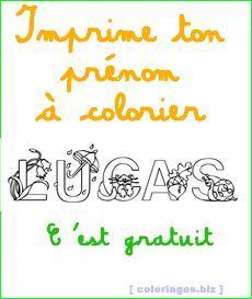 Coloriages Gratuits Prenom A Imprimer Gratuit Coloriage Prenom Coloriage Gratuit Jeux A Imprimer