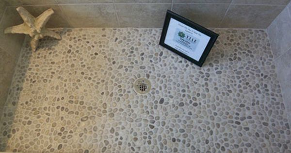 17 Best images about Pebble Tile on Pinterest   Contemporary ...