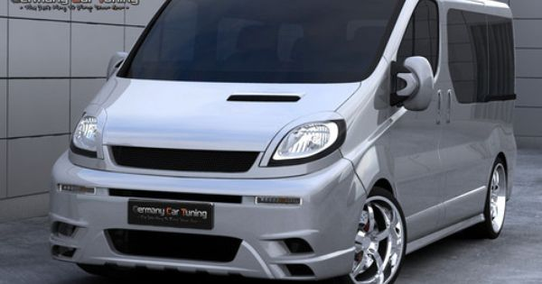 Opel Vivaro Komplettvers Spoiler Set Body Kit Tuning Umbau Neu