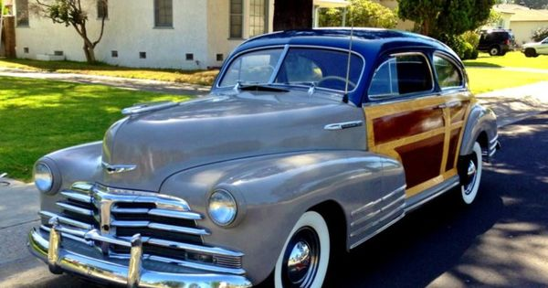 1948 chevrolet fleetline woody re pin brought to you by agents at houseofinsurance eugene. Black Bedroom Furniture Sets. Home Design Ideas