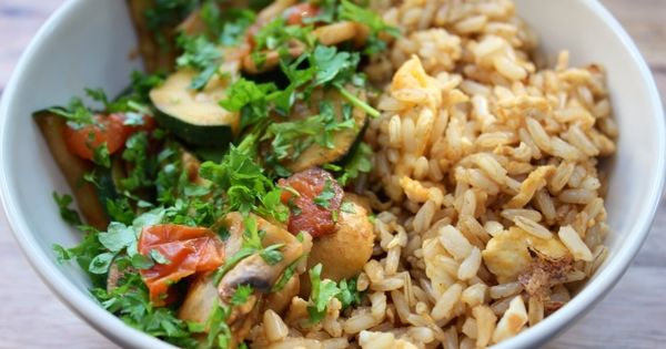 Breakfast bowls, Brown rice and Clean eating on Pinterest
