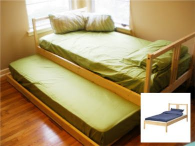Fjellse Trundle Bed Using Two Simple Fjellse Bed Frames 39 99