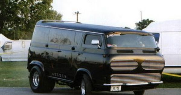 Headstone Custom Ford Econoline Custom Vans First