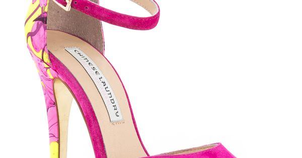 Kristin Cavallari's Multi-Color Leale - Hot Pink Suede for 114.99 ...