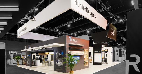 Exhibition Stand By Exhibitionco For Hunter Douglas At Bmaa 2019 Exhibition Stand Design Exhibition Design