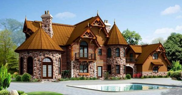 Log Home Very Paul Bunyan Meets Harry Potter Log Cabin House Plans Log Home Plan Log Homes