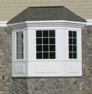 Pin By Sarah On Ideas For The House Bay Window Exterior House Exterior House Designs Exterior