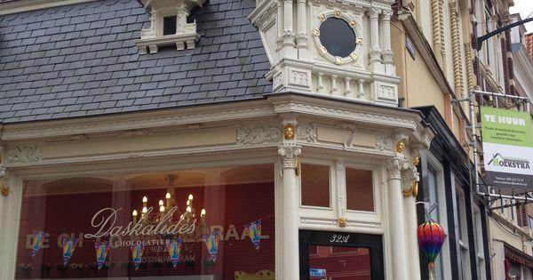 Smalste huis van de wereld in leeuwarden de schuine deur met raam is m breed holland - Mand linnen huis van de wereld ...
