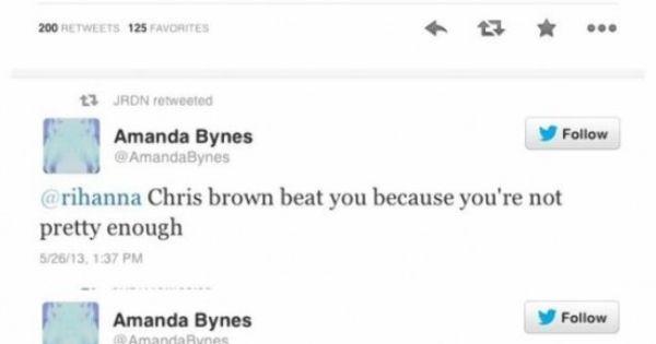 Amanda Bynes Rihanna Twitter Beef Funny Tweets Rihanna You