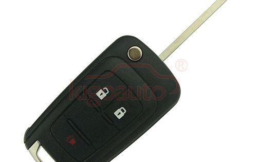20873621 Flip Key Shell 2 Button With Panic For Chevrolet Equinox Sonic Chevrolet Sonic Chevrolet Equinox Chevrolet Malibu