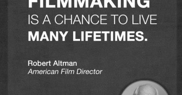 A Nice Quote About All The Stories We Dive Into When Creating Our Films Filmmaking Quotes Movie Quotes Real Life Quotes