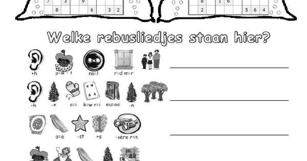 Kleurplaten Puzzels Groepen Sudoku En Rebus Jack Nowee Sinterklaas Puzzels