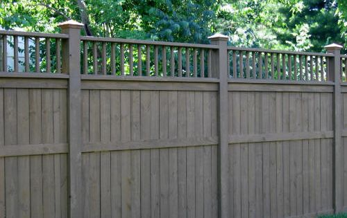 Privacy Fence Love The Gray Stain One Day For Honey