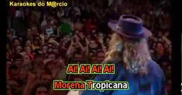 Alceu Valenca Morena Tropicana Karaoke Karaoke