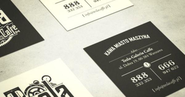 Tesla Business Cards Business Card Design Innovative Business Cards Business Card Branding