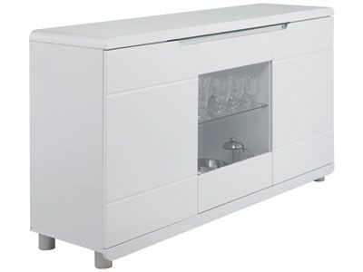 Buffet Bel Air Prix Promo Conforama 266 05 Ttc Au Lieu De 379 Buffet Salon Buffet Mobilier De Salon