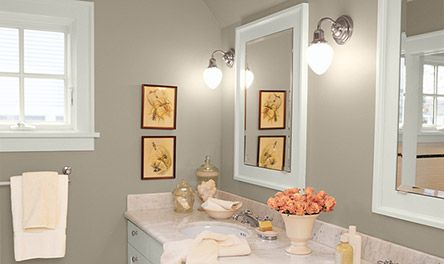 Linen By Valspar This Is Our New Master Bedroom Color Perfectly Gray Green Beige Bathroom Wall Colors Small Bathroom Colors Best Bathroom Paint Colors