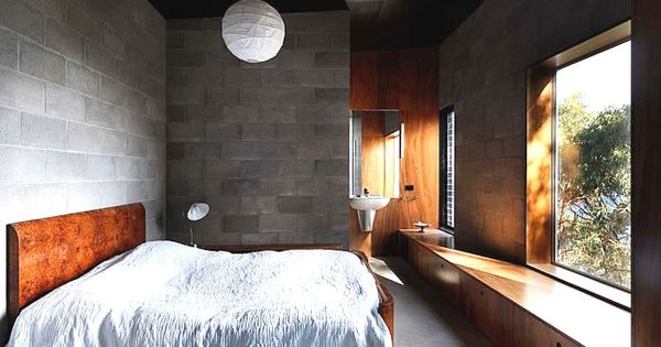 Big Hill House by Kerstin Thompson Architects  Interior  Pinterest