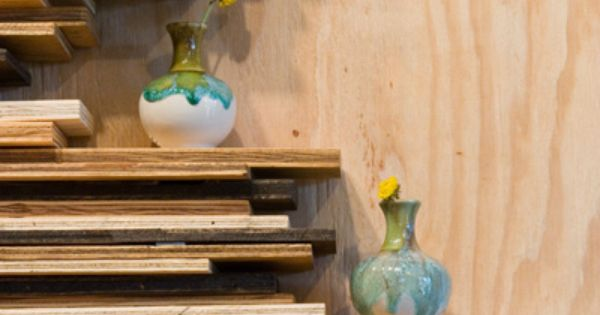 this looks cool | For the Home | Pinterest | Shelf ideas, Reclaimed ...