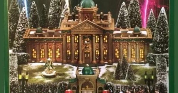 Dept 56 Limited Addition Dicken 39 S Village Ramsford Palace