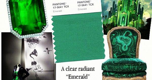 Emerald Green Inspiration coloroftheyear pantone emerald www.BrassTacksEvents.com