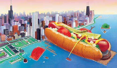 Vienna Been Company History My Town Chi Town Chicago Hot Dog