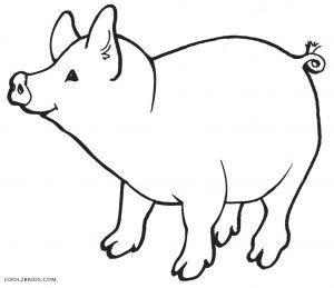 Pig Coloring Pages Animal Coloring Pages Peppa Pig Coloring Pages