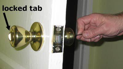 Easy Illustrated Instructions On How To Unlock The Bathroom Door Bedroom Doors Doors Bathroom Doors