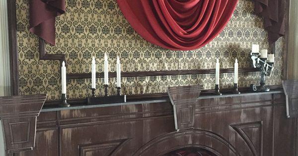 Haunted mansion formal dining room by magalie sarnataro for Haunted dining room ideas