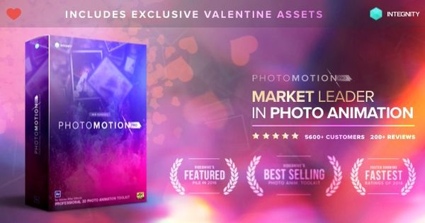 Photomotion 3d Photo Animation Toolkit 5 In 1 Instagram Story Template Videohive Optical Flares
