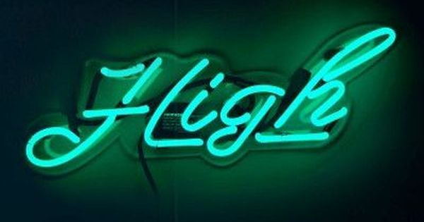 Oliver Gal High Neon Sign Wayfair Neon Signs Neon Words Electronic Signs