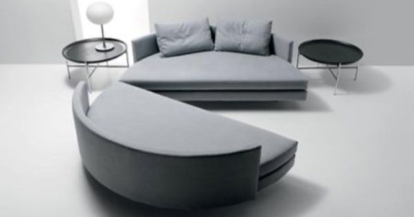 Scoop Convertible Round Sofa Bed Home Pinterest