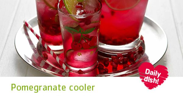 Pomegranates, Coolers and Party punches on Pinterest