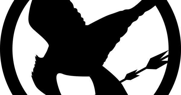Mockingjay Logo Black And White Mockingjay logo | Book...